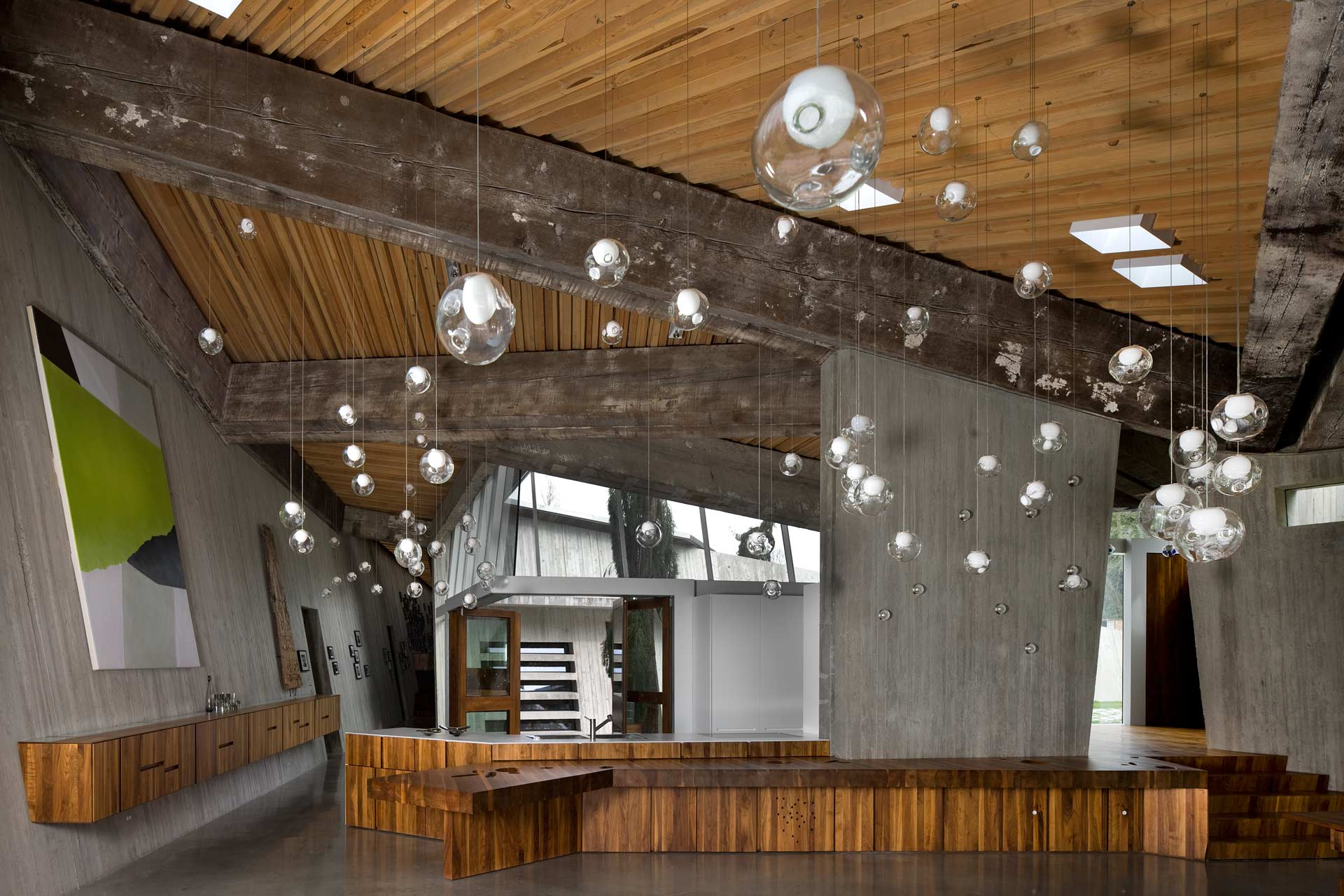 works omer arbel. Photography By Nic Lehoux Works Omer Arbel